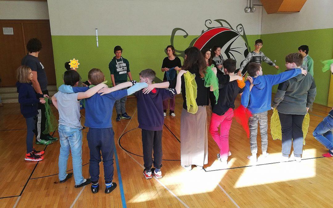 Cirkuške dejavnosti v Mladinskem domu Malči Belič