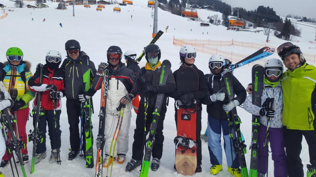 Zimske radosti v avstrijskem Saalbachu – športna skupina SS Črnuška gmajna (MDJ) od 31.1 do 3.2.2019