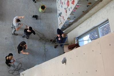 Obisk plezalnega centra s skupino Rdeča kljuka, ZVI Logatec